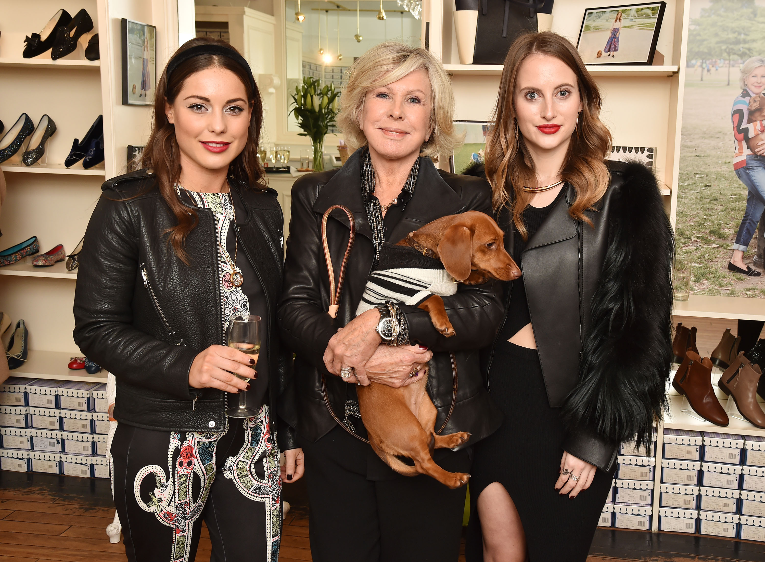 Louise Thompson, Jane Winkworth and Rosie Fortescue